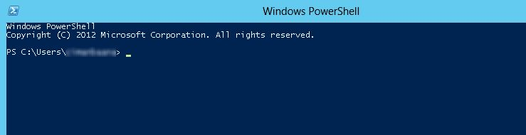 Logoff from a RDP session on a Windows 2012 Server using
